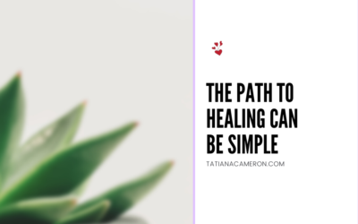 The Path to Healing Can Be Simple